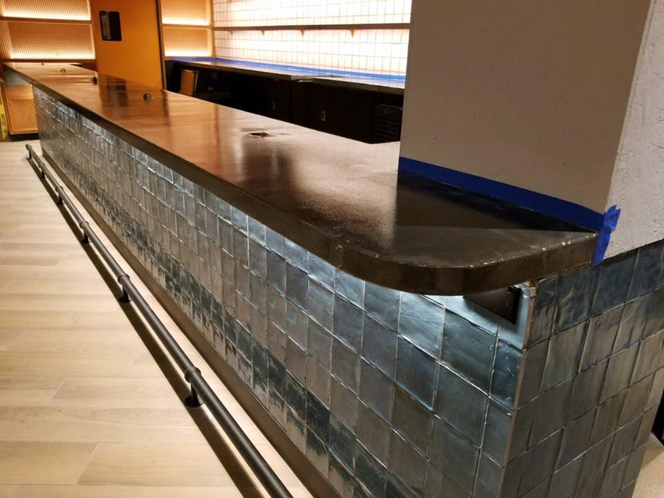 Bar Concrete Countertop (Fort Lauderdale, FL)