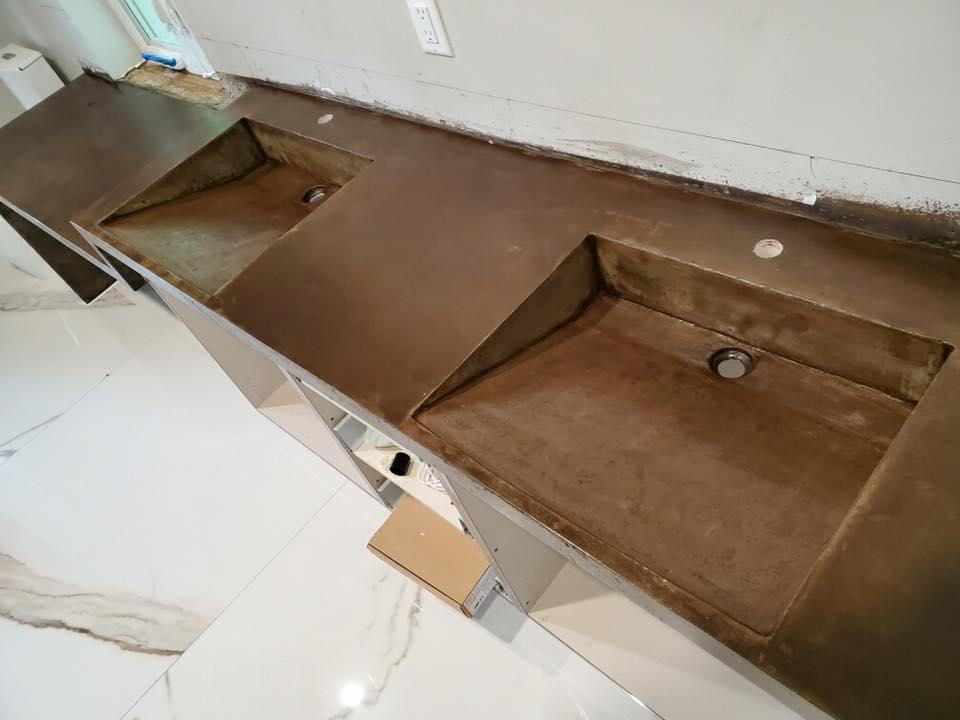Double Concrete Sink (Galt Ocean Mile)