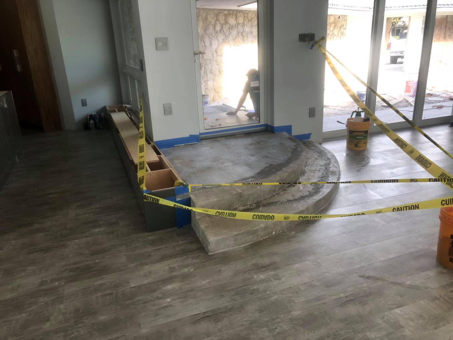 Concrete Stair Entry Way (South Florida